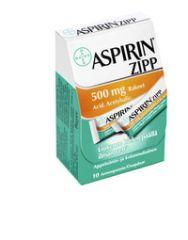 ASPIRIN ZIPP 500 mg rakeet (annospussi)20 kpl