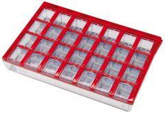 Dosett Medi Red SE 155x102x25 1 kpl