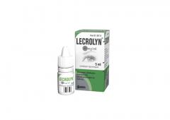 LECROLYN 40 mg/ml silmätipat, liuos 5 ml