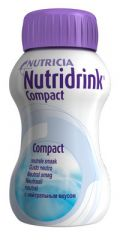 NUTRIDRINK COMPACT NEUTRAALI X4X125 ML