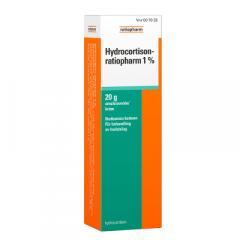 HYDROCORTISON-RATIOPHARM 1 % emuls voide 20 g